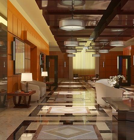 Commercial indoor